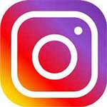 Instagram logo for facepainting kids party entertainment page and children's birthday parties